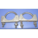 "Exhaust Pipe Clamp, 1-3/4"", Pair"