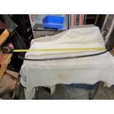 Windshield Frame Header Reveal Molding, Original.   80-82 Corvette