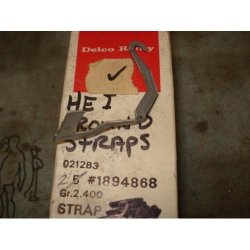 Distributor to Coil Ground Strap  NOS GM 1894868  78-91