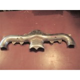 Exhaust Manifold Heat Shield, Chromed.  Fits LH or RH. 84-91 Corvette