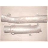 "Exhaust Tail Pipe Heat Shield, 2"", Pr., New.  65-67 Corvette"