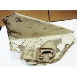 Door Body Fiberglass Panel, Rear Driver Side Original.  61-62 Corvette