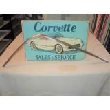 Hard Top Molding, Exterior Rear Upper LH Original.  63-67 Corvette