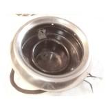 Headlight Bucket Assembly, w/Chrome Bezel. 53-54 Olds, Pontiac