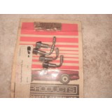 Headlight Bulb Washer Nozzles, New Set of 4.  69 Chevy II, Chevelle, Camaro, 69-71 Corvette.