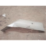 Exhaust Pipe Heat Shield, Driver Side Original.  86-90 Corvette
