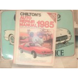 Chilton Auto Repair Manual, Hard Bound Book, Domestic and Canadian Cars, 85 Edition