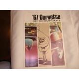 Dealer Sales Brochure, 1967 Corvette, New