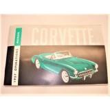Operations Manual, 1957 Corvette, New