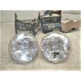 Headlight Bulb, NOS 6006 Powerbeam Guide T-3, 6V, 40-55 Chevy, 53-55 Corvette