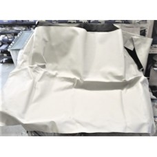 Soft Top Cover, Tan w/ Black Fabric Backing, New.  56-57 Corvette