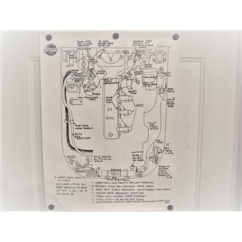 chassis wiring diagram new 61 62 corvette rh jnjvette com