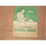 Chasiss Manual, Used Excellent. Chevrolet.  68-71 Chevrolet