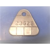 Carburetor Tag, New 2362S, 56-57E Chevy, Corvette