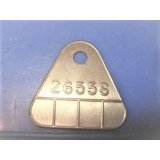 Carburetor Tag, New 2355S, 57 Chevy, Corvette
