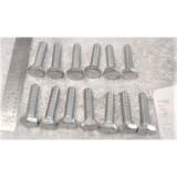 Deck Lid / Trunk Hinge Tower Arm Mount Bolt Set, New 13 pieces.  53-58 Corvette