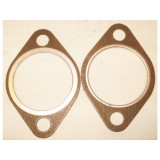 Exhaust Manifold to Pipe Gasket, New.  55-56 Corvette