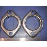 "Exhaust Manifold to Pipe Flange, 2"", 2 Bolt, New Pair.  55-56E Corvette"