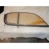 Door Side Curtain Plexiglasss, RH Original Dated 4/54. 1954 Corvette