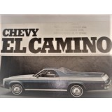 Dealer Sales Brochure, 1974 Chevrolet El Camino.  New Original. Dealer Stamped Traders Chevrolet, Greensboro, NC