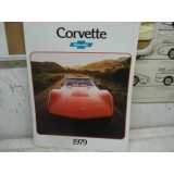 Dealer Sales Brochure, 1979 Corvette, New Original
