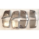 Grille Tooth, Original # 2, 3, or 4, Set of 4.  53-60 Corvette