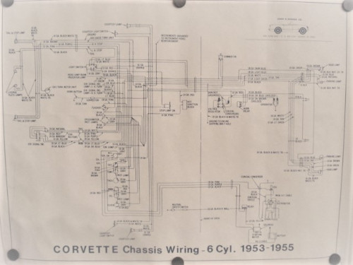 1955 corvette wiring diagram chassis wiring diagram  new  53 55 corvette  chassis wiring diagram  new  53 55 corvette